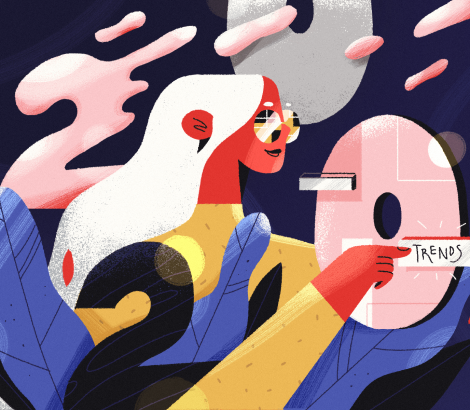 Disrupting The Rules: The Boldest Graphic Design Trends in 2020
